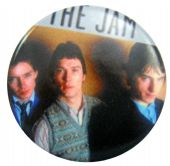 The Jam - 'Group Tank Top' Button Badge